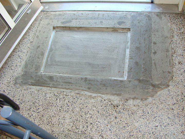Awesome dybderens af terrazzo klinker u marmor fr og efter with terrazzo klinker